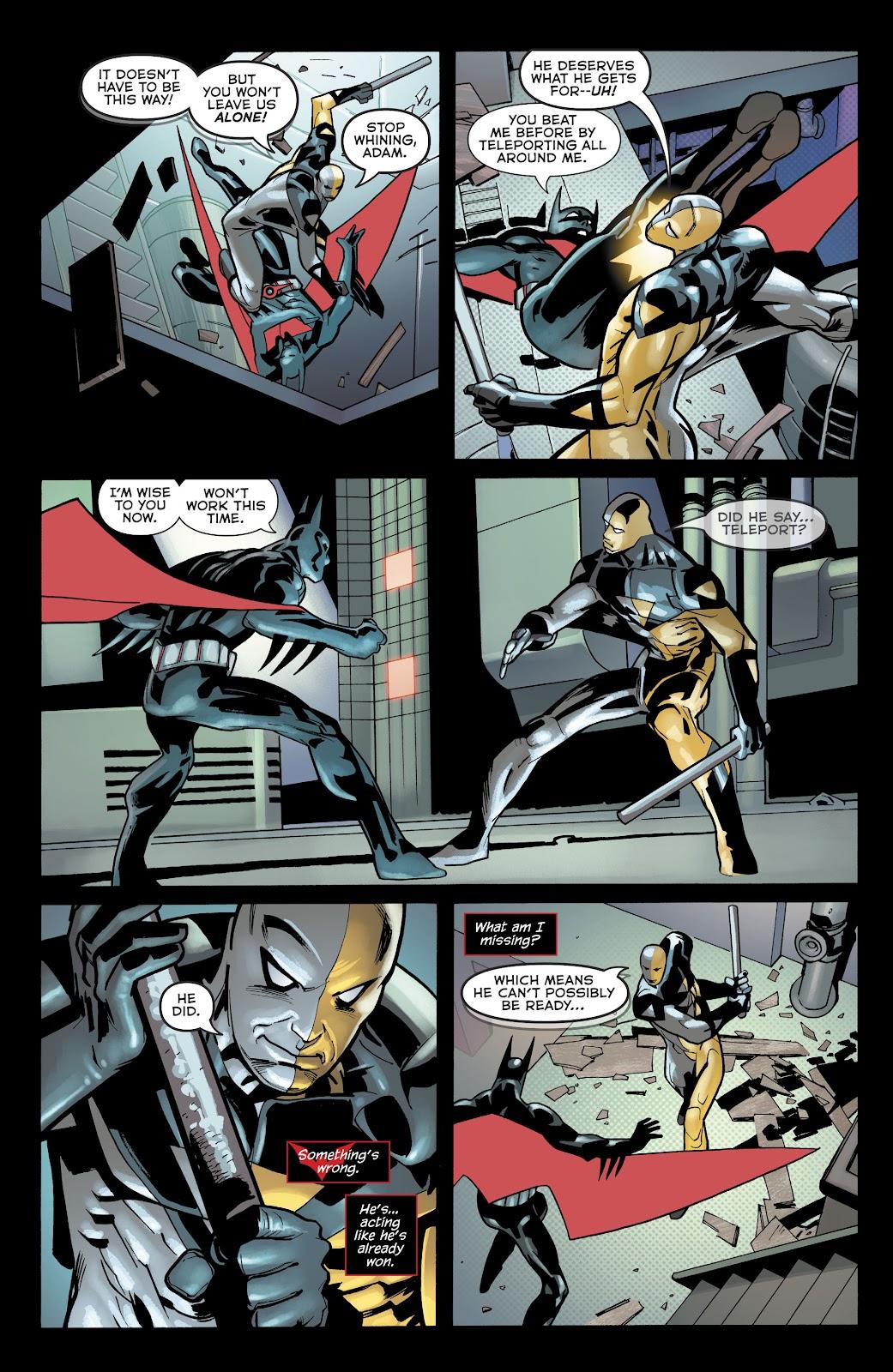 Read online Batman Beyond (2016) comic -  Issue #32 - 17