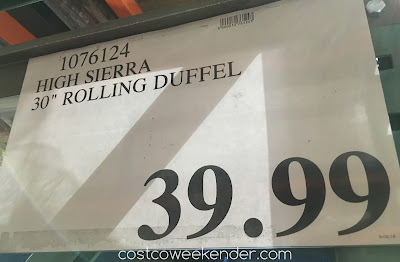 Deal for the High Sierra Drop-Bottom Wheeled Duffel at Costco