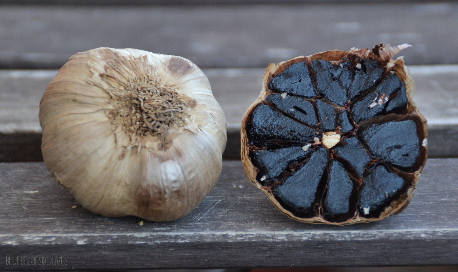 BLACK GARLIC - BLACK GARLIC AND NUTS COLD SOUP