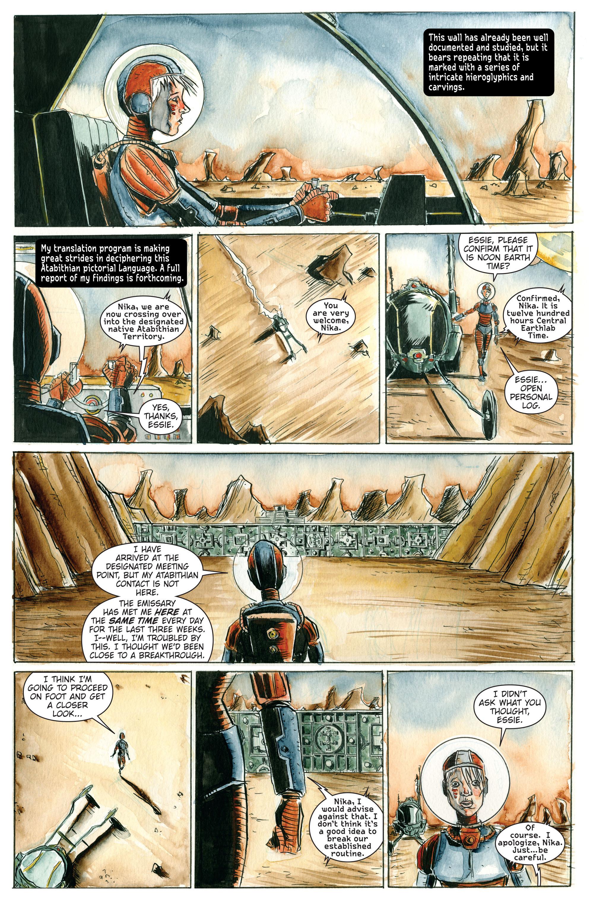 Read online Trillium comic -  Issue # TPB - 12