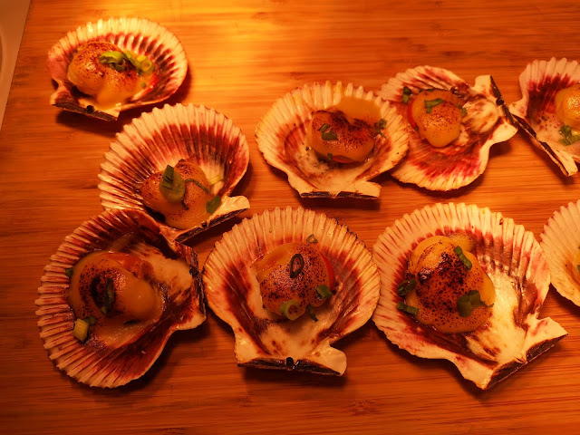 durian miso scallop