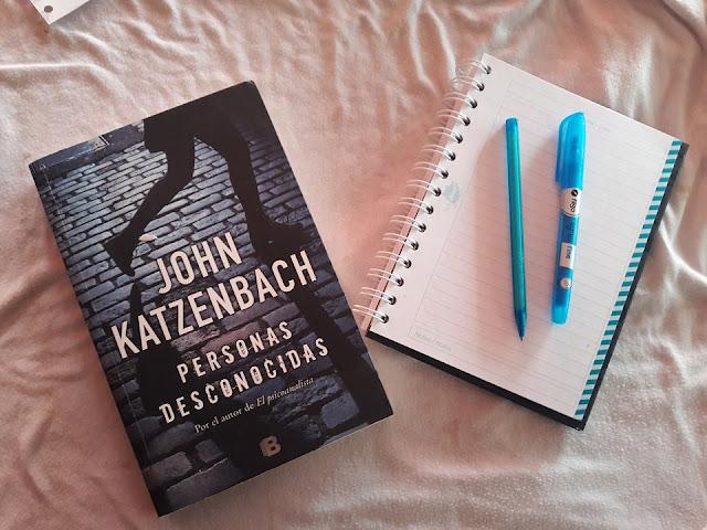 """""""Personas desconocidas"""" por John Katzenbach"""