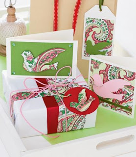 recycled greeting card crafts to make gift Tags