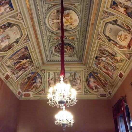 Siena: Episodi di eroi greci e romani del Beccafumi a Palazzo Pubblico