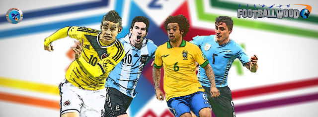 Google+ covers of Copa America 2015