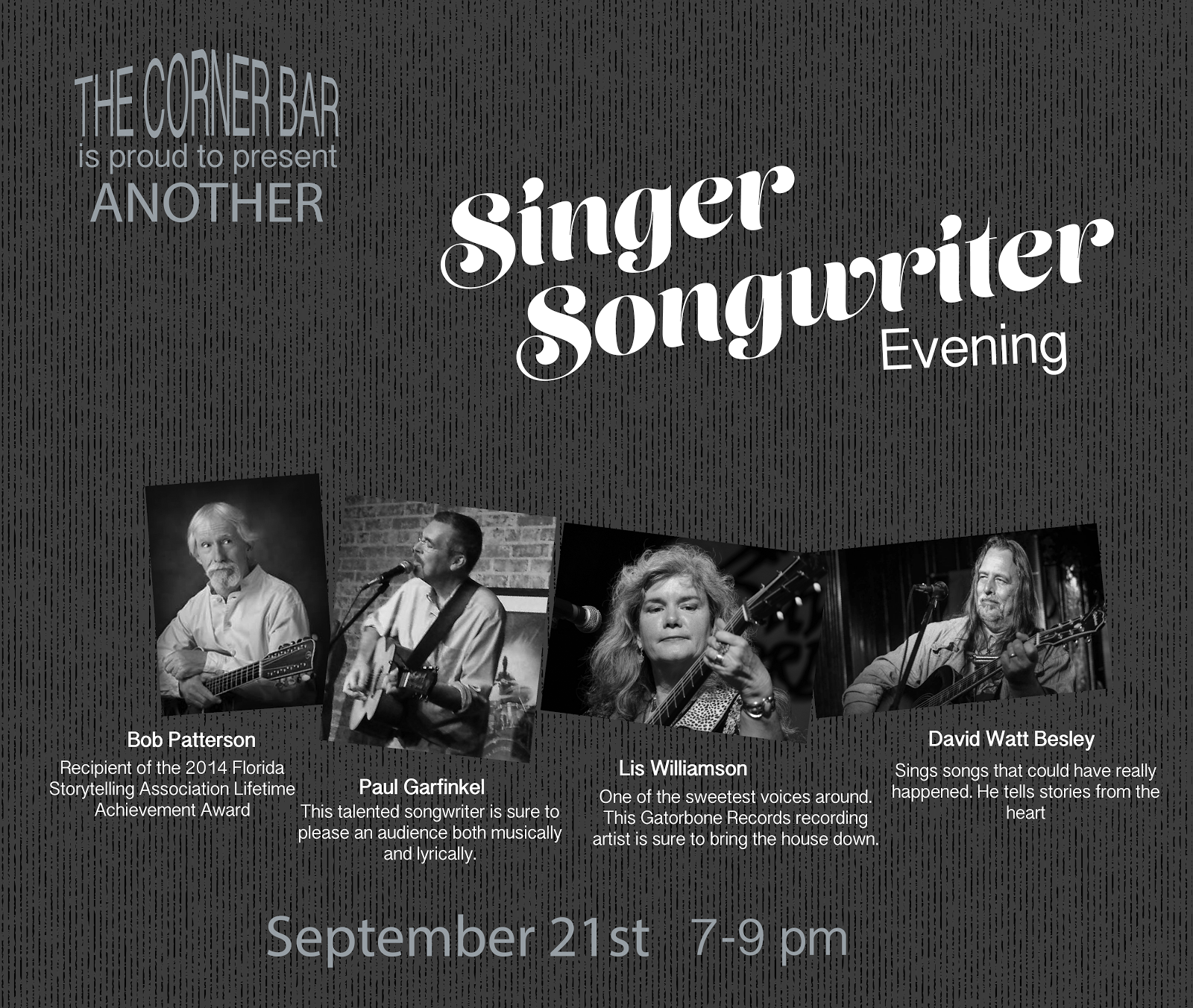 SINGER SONGWRITER NIGHT IX