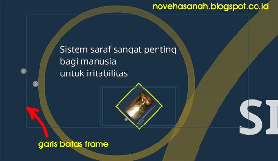 tutorial membuat presentasi di prezi, kali ini berkaitan dengan cara melakukan navigasi di kanvas prezi untuk bekerja dengan gambar frame dan teks