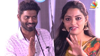 Malayalam Actress Nikhila Vimal calling her pair Ma Ka Pa Anand as ANNA | Panju mittai Audio Launch