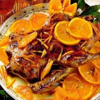 Утка с апельсинами