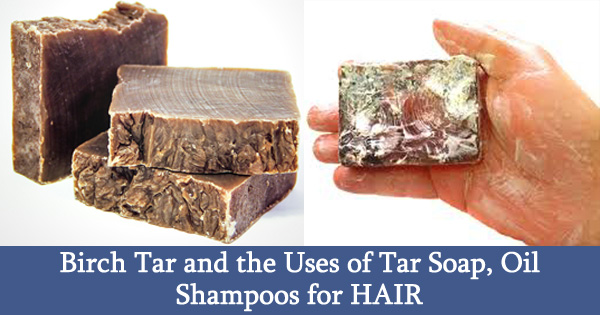 Birch Tar and the Uses of Tar Soap, Oil Shampoos for HAIR