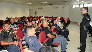Sobrevivência Policial - Palestra na GCM de Cabo de Santo Agostinho
