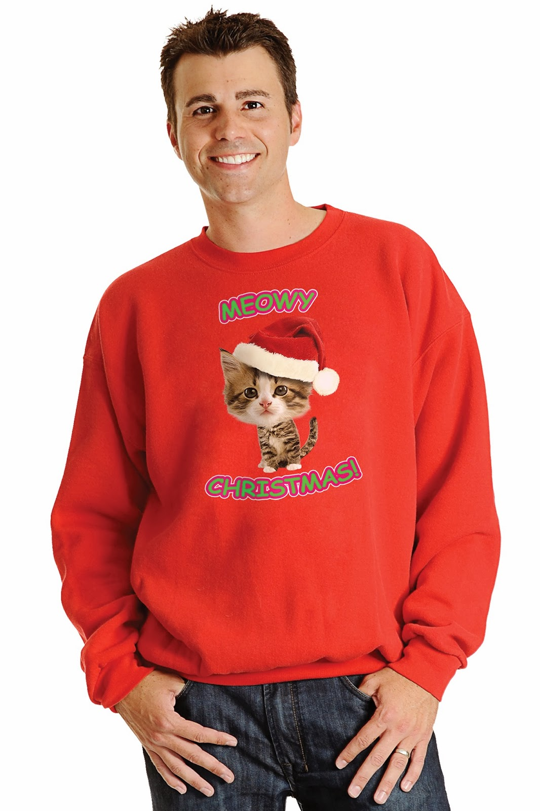 Domestic Sluttery Digital Dudz Christmas Jumpers That Move