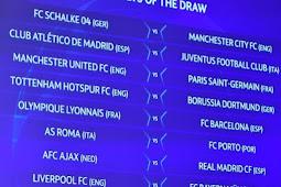 UEFA Champions : Hasil Drawing Liga Champions 2018/2019