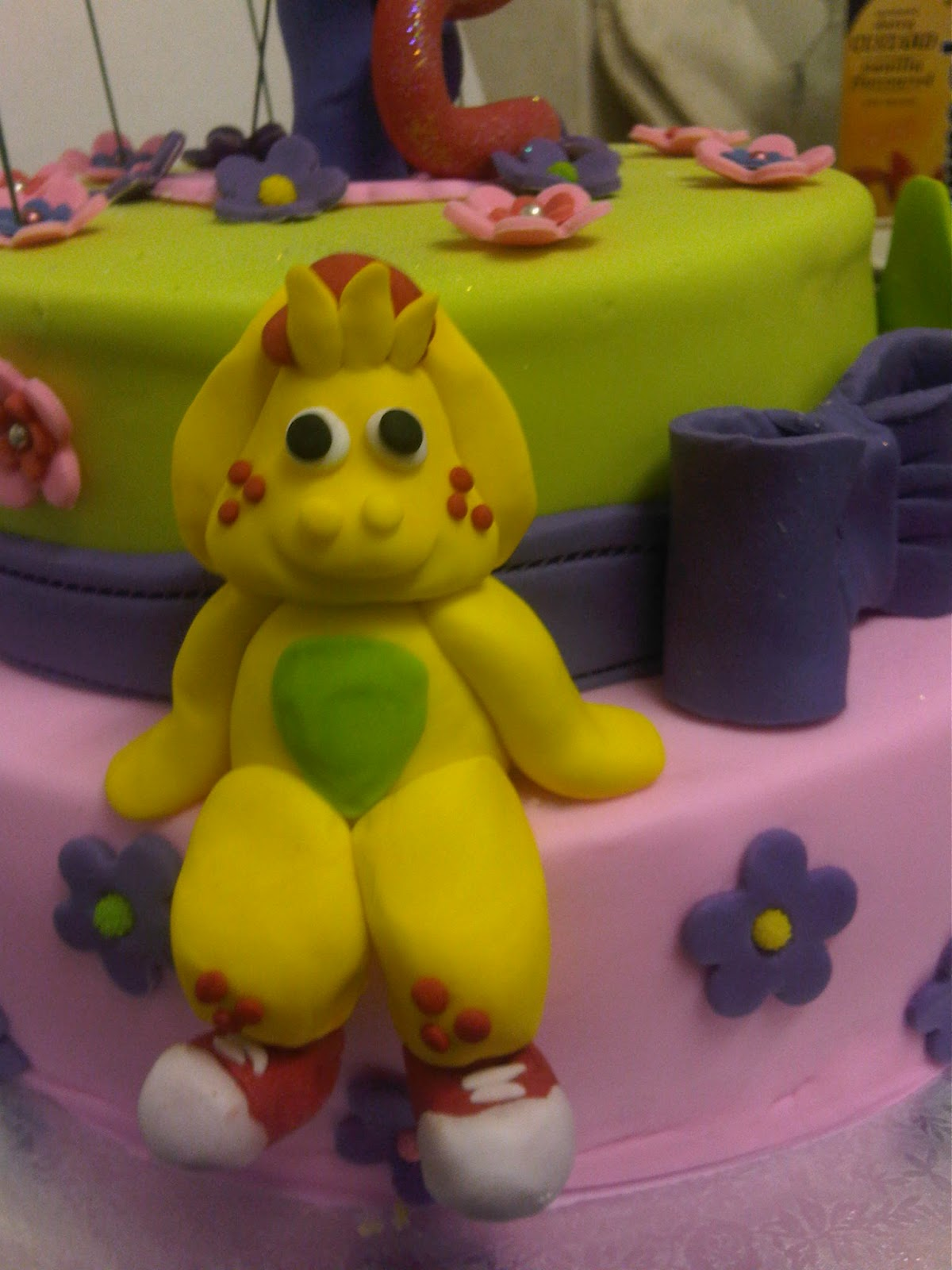 Welcome To Just Iced Barney And Friends Cake