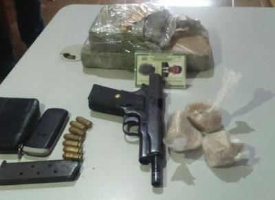 Polícia prende fugitivo do Rio Grande do Norte na cidade de Taperoá