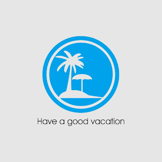 Have A Good Vacation In The Beach Free Download Vector CDR, AI, EPS and PNG Formats