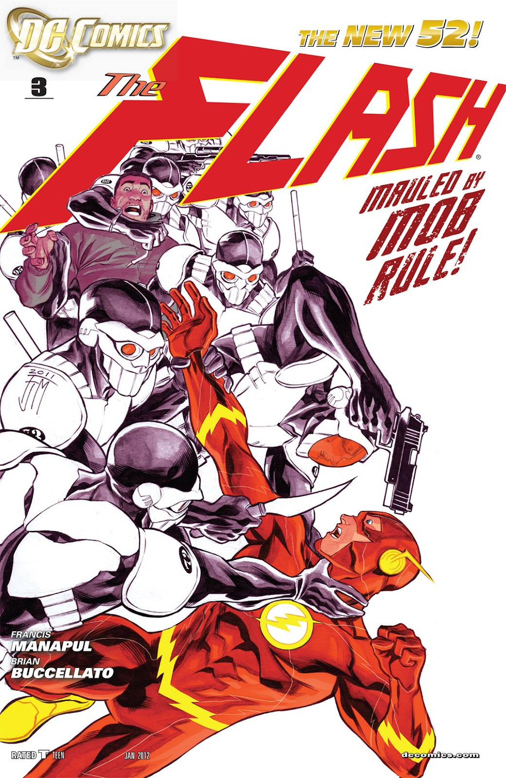 The Flash (2011) issue 3 - Page 1