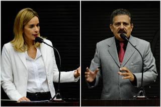 """Tião chama Daniella de bajuladora, e deputada rebate: """"Não vou jogar pérolas aos porcos"""""""