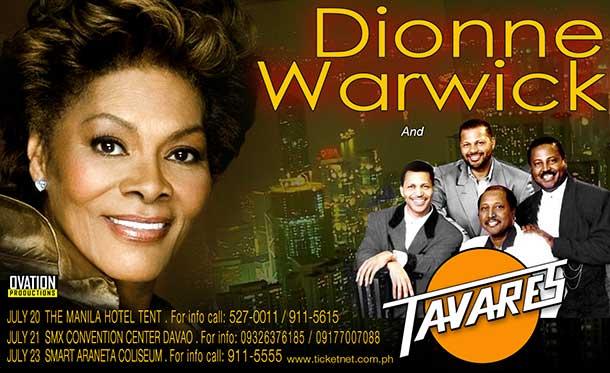 Dionne Warwick 2013 Philippines Tour