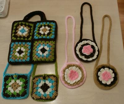 かぎ針編みポシェット