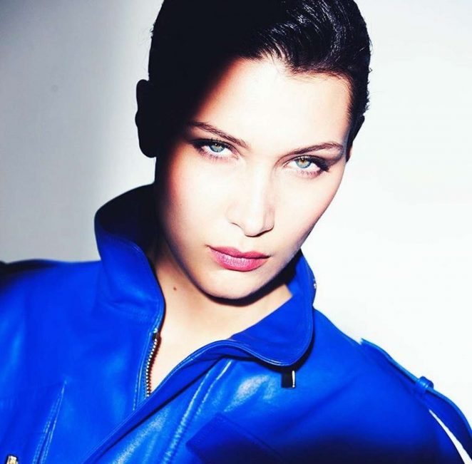 Bella Hadid Photoshoot for Alexandre Vauthier