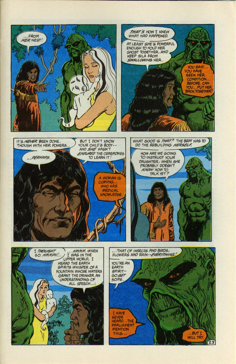 Swamp Thing (1982) Issue #99 #107 - English 24