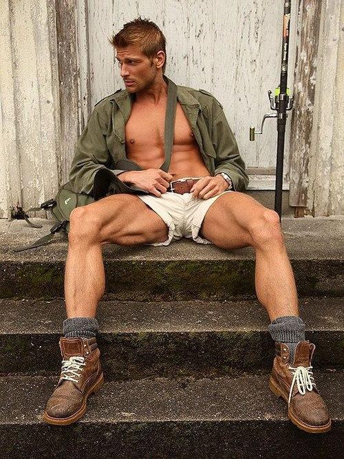 Men with open legs showing dicks gay xxx