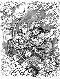 Conan és Balthus a pikt dzsungelben