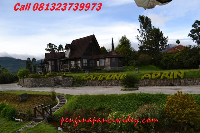 Booking villa di area wisata kawah putih dari banjar