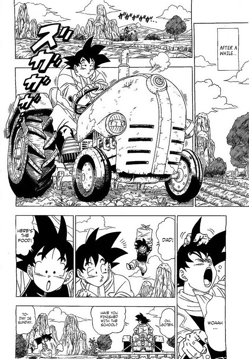 Dragon Ball Super Ch.1
