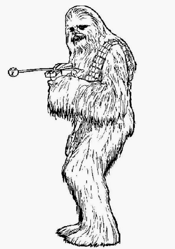 Ausmalbilder Star Wars - Bilder zum ausmalen