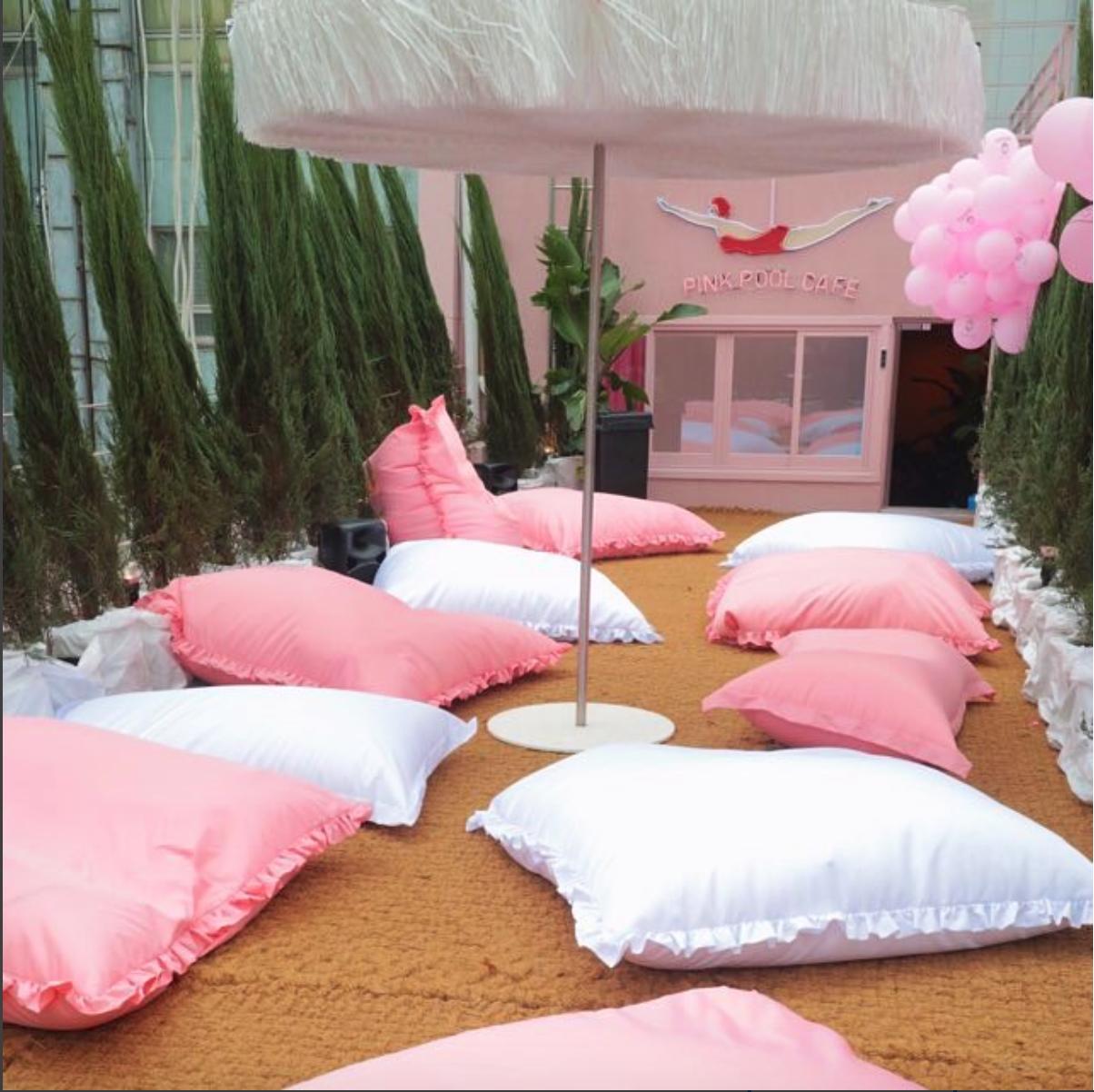 dena dayana dayn dyna: style nanda pink hotel