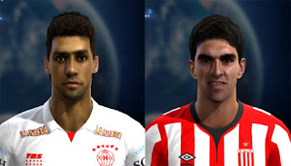 Mini faces Liga argentina Pes 2013