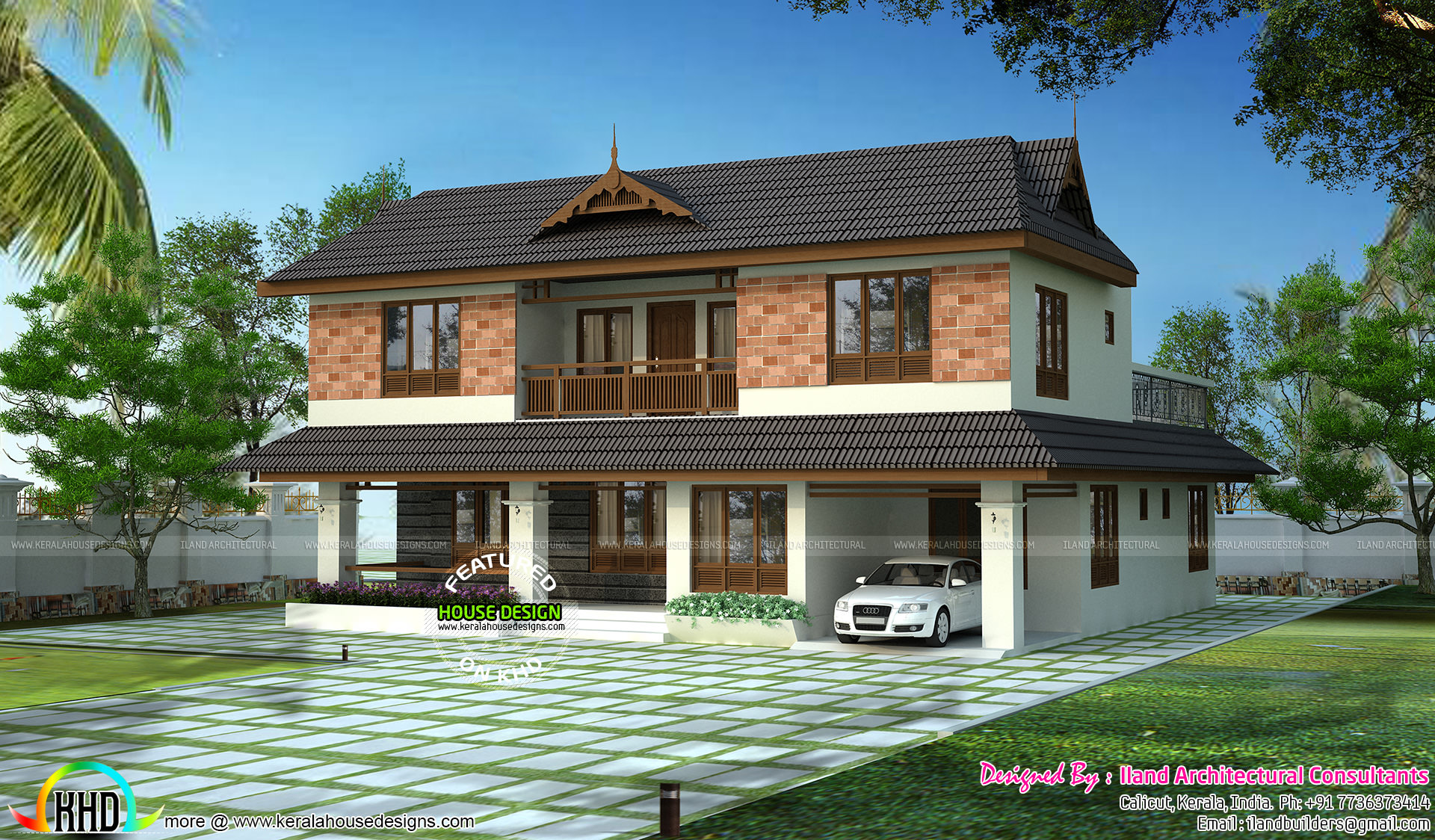 Traditional home by iland architectural consultants for Home design consultant