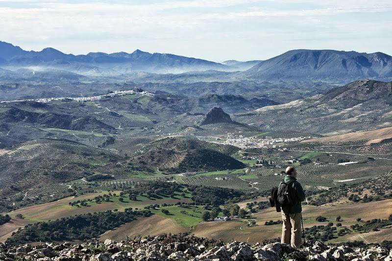 Sierra de Grazalema-Algodonales desde 'El Terril'