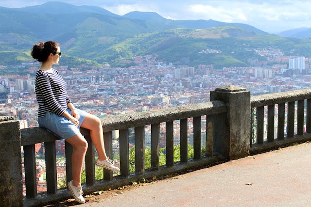 View from Bilbao, Spain - London travel blog