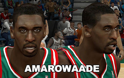 NBA 2K13 Ekpe Udoh Cyberface Patch