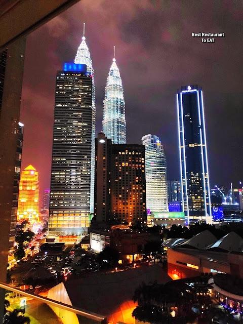 KLCC Night View - Kuala Lumpur Skyline