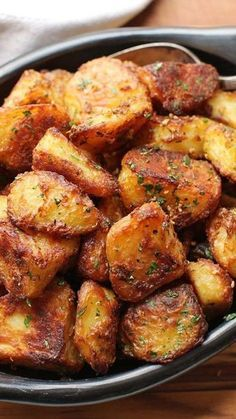 These are the most flavorful crispy roast potatoes you'll ever make. And they just happen to be gluten-free and vegan (if you use oil) to boot.