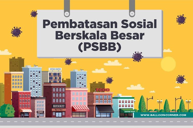 Pembatasan Sosial Berskala Besar / PSBB