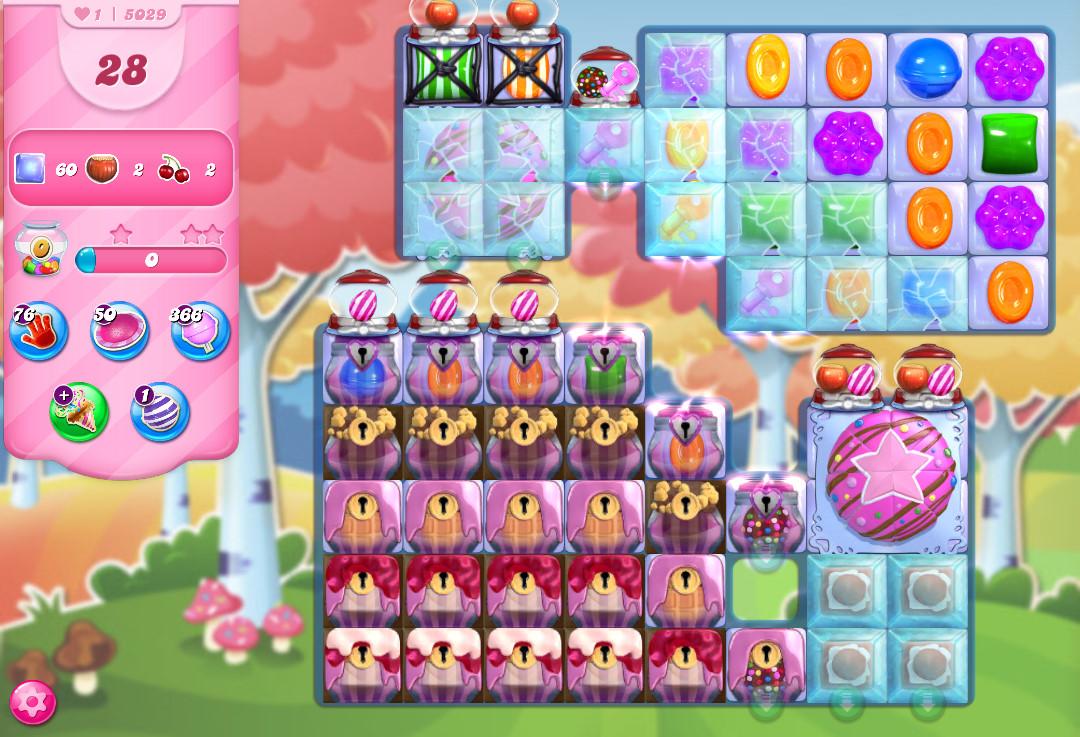 Candy Crush Saga level 5029