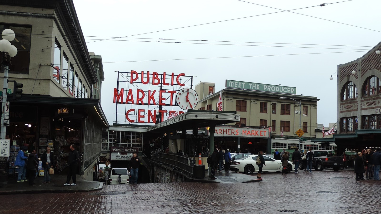 4332a3e2905 Travel with Kevin and Ruth!  Pike Street Market and the Space Needle ...