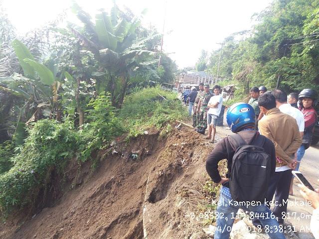 Baru Mau Bangun Rumah di Toraja, Semen Serta Mesin Molen Sudah Dijatuhi Longsor