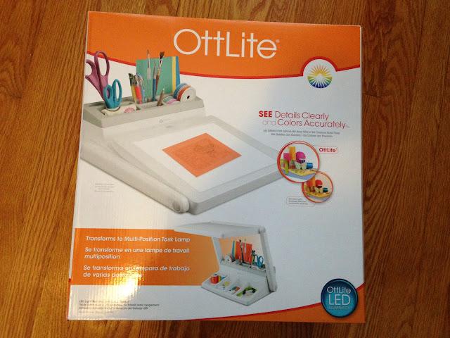 Ottlite light box, weeding, vinyl