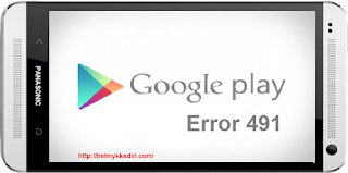 Memperbaiki Google Playstore Error6