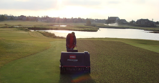 Spring Greens Aeration