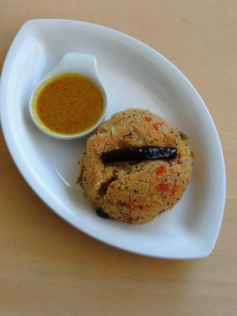 Gluten Free Jowar Tomato Upma