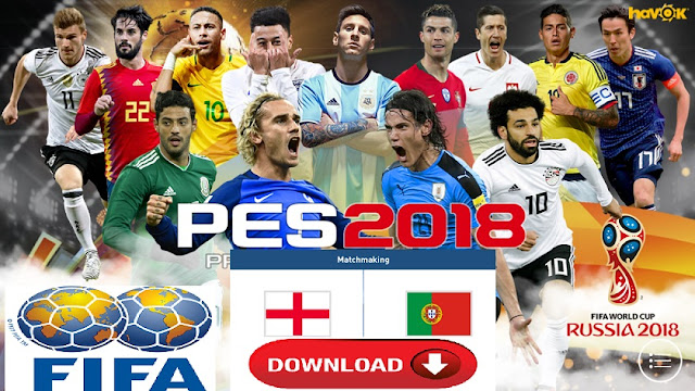 Download PES 2018 Mobile Patch World Cup Russia Mod Android