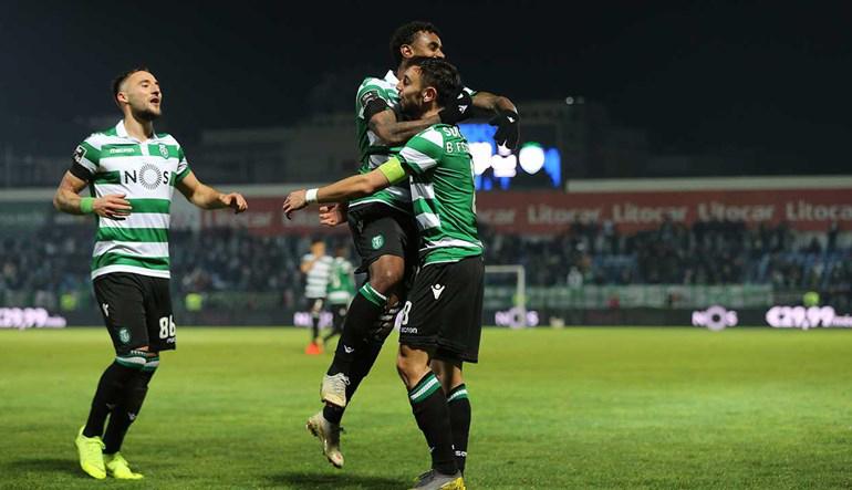 Sporting Feirense: Planète Sporting Clube De Portugal: Liga : CD Feirense 1-3