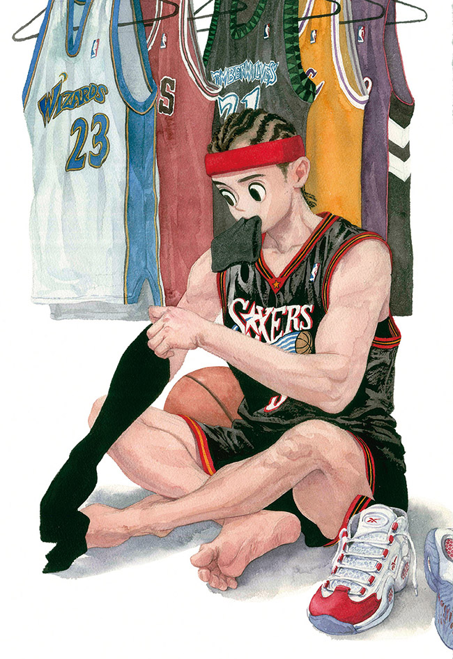 JungYoun Kim 김정윤 - #YellowMenace Basketball Art Collection